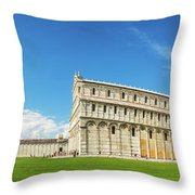 Pisa Panorama Throw Pillow