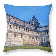 Pisa - Piazza Dei Miracoli Throw Pillow