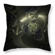 Piscean I Throw Pillow