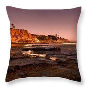 Pismo Beach Sunset Throw Pillow