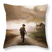 Un Pistola Throw Pillow