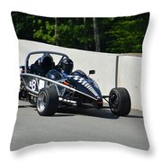 Pit Out Throw Pillow