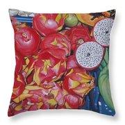 Pitahaya Throw Pillow