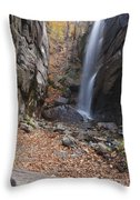 Pitcher Falls - White Mountains New Hampshire Throw Pillow