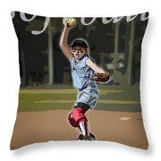 Pitcher Throw Pillow