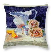Pitcher Picture Throw Pillow