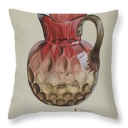Pitcher Throw Pillow