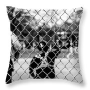 Pitchers And Catchers Throw Pillow