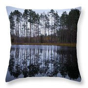Pitkajarvi 4 Throw Pillow