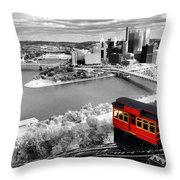 Pittsburgh From The Incline Throw Pillow