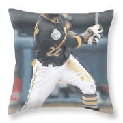 Pittsburgh Pirates Andrew Mccutchen 3 Throw Pillow