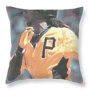 Pittsburgh Pirates Andrew Mccutchen Throw Pillow