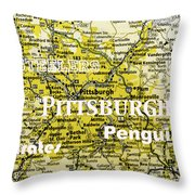 Pittsburgh Sports Throw Pillow