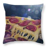 Pizza Anyone Throw Pillow