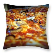 Pizza Pie For The Eye Throw Pillow