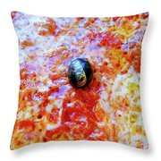 Pizza Pie With Olive Throw Pillow