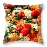 Pizza San Juan  Throw Pillow