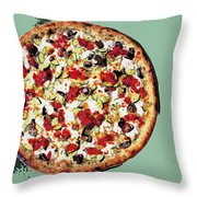 Pizza - The Guido Special Throw Pillow