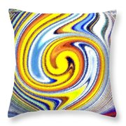 Pizzazz 25 Throw Pillow