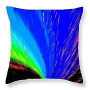 Pizzazz 3 Throw Pillow