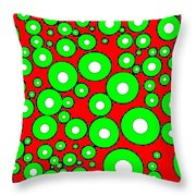 Pizzazz 5 Throw Pillow