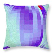 Pizzazz 9 Throw Pillow