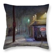 Pizzeria Throw Pillow