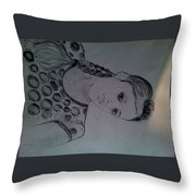 Pj Kelwins Sketch Throw Pillow