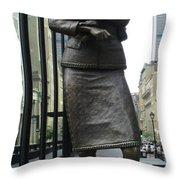 Place D'armes Sculpture 1 Throw Pillow