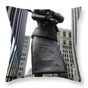 Place D'armes Sculpture 2 Throw Pillow