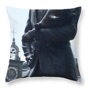 Place D'armes Sculpture 4 Throw Pillow