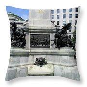 Place D'armes Sculpture 5 Throw Pillow
