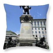 Place D'armes Sculpture 6 Throw Pillow