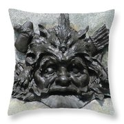 Place D'armes Sculpture 7 Throw Pillow