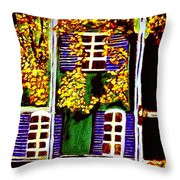 Place De La Paix Throw Pillow