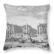 Place Des Victoires Throw Pillow