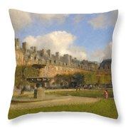 Place Des Vosges Throw Pillow
