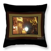Place St Michel To Rue Saint-andre Des Arts Greeting Card And Poster Throw Pillow