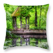 Place To Relax And Meditate  Throw Pillow