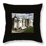 Place Where Dead People Are Buried Throw Pillow