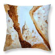 Places Of Worship Throw Pillow