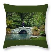 Placid Pond Throw Pillow