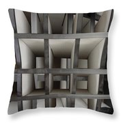Plain Perspective Throw Pillow