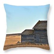 Plains Homestead  Throw Pillow