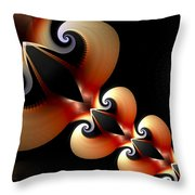 Plaited Love Throw Pillow