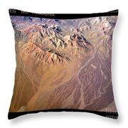 Planet Art Number Three Throw Pillow