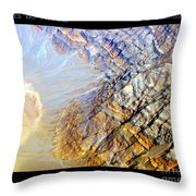 Planet Earth Eight Throw Pillow