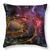 Planet Formation Throw Pillow