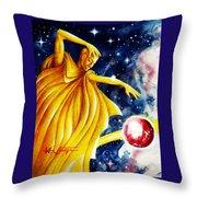 Planet  Guardian Throw Pillow