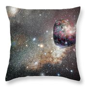 Planet Love Throw Pillow